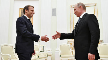 'New rules of trust & security': Macron wants EU ties with Moscow independent of NATO & US