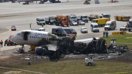 From lightning strike to fiery landing: IAC releases minute-by-minute account of SSJ-100 crash