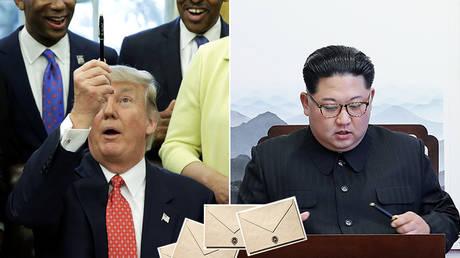To Dotard, love Rocketman? Kim & Trump confirmed 'friendly' pen pals