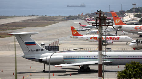 Conspiracy aside: Russian military plane in Venezuela 'for maintenance of supplied equipment'