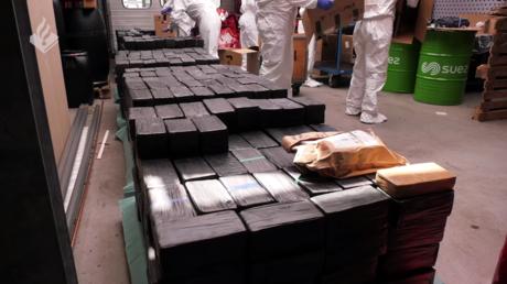 Dutch police make Europe's biggest ever crystal meth seizure, burn 2,500kg of the drug