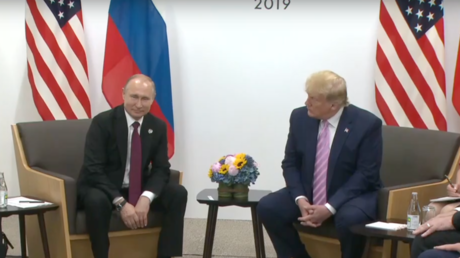 Putin & Trump meet at G20 summit in Osaka