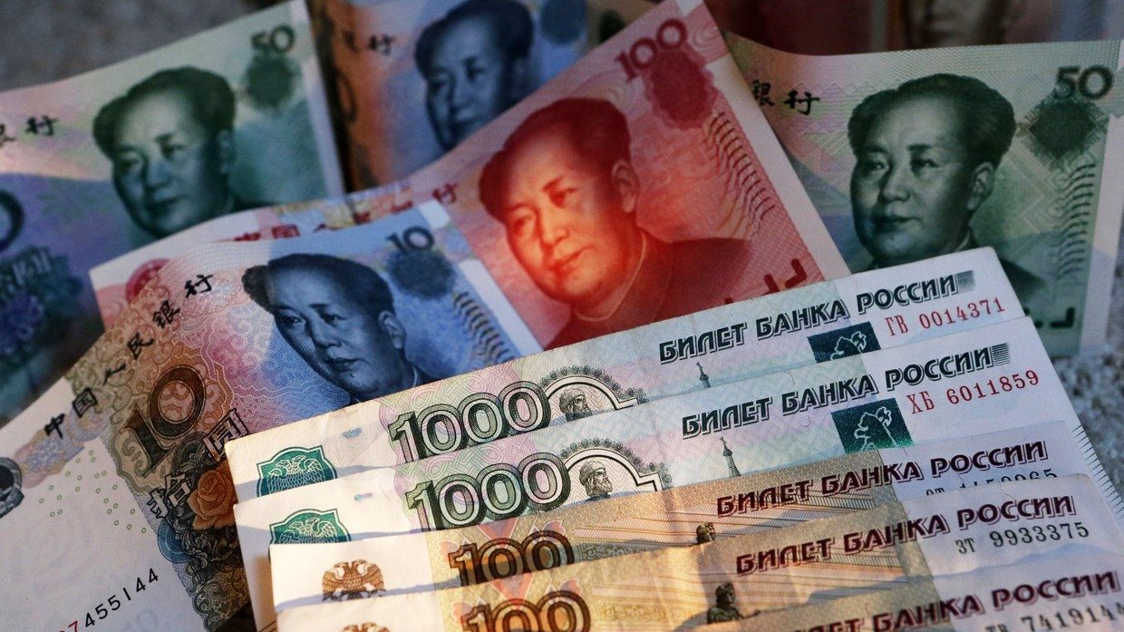 Dollar dump? Russia & China agree to bilateral trade in national currencies during Putin-Xi meeting