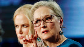 Meryl Streep suffers MSM backlash after straying from Hollywood line on 'toxic masculinity'