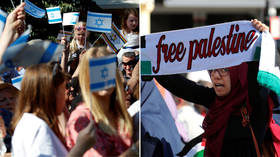 Pro-Palestinian or anti-Semitic? Rival rallies face off in Berlin on Quds Day (PHOTOS, VIDEOS)