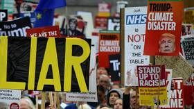 'NHS not for sale!': Trump provokes UK anger after saying health service 'on the table' post-Brexit