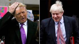 Awkward: Trump's 'friend' Boris Johnson turned down personal meeting during UK trip