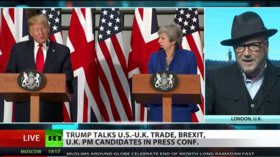 Trump meets w/ PM Theresa May, not Farage or Corbyn