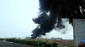 Fire shuts Goa Airport after Indian Navy fighter jet drops fuel tank (PHOTOS)