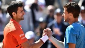No Djok! Dominic Thiem knocks out Novak Djokovic to reach French Open final
