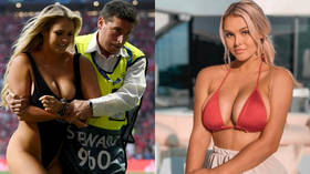 Pitch invader Wolanski reveals details of failed Copa America stunt as she is JAILED in Brazil