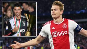'I was a little shocked': In-demand de Ligt responds to Ronaldo's request to join him at Juventus