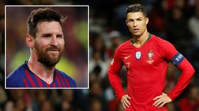 Missed Out Again Cristiano Ronaldo Bumped Into Second Place As Lionel Messi Tops Forbes Rich List Rt Sport News