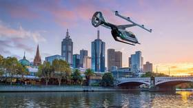 Flying taxis are set to buzz through the skies of Melbourne, Australia