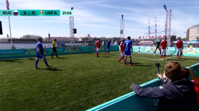 Euro 2020 countdown: UEFA legends face Russia stars in St. Petersburg (VIDEO)