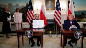 Trump sells more US troops & LNG to Poland while bashing Russian gas supply to EU