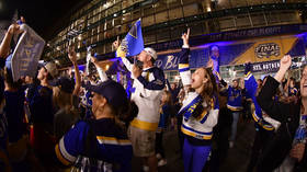 'St. Louis is rocking': Wild celebrations as Blues seal historic Stanley Cup win (VIDEO)