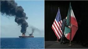 【ロシア、火に油を注いでみる】ロシアトゥデイ「タンカー攻撃がイラン・米国の戦争開始の引き金になる可能性と専門家の分析」 YouTube動画>1本 ->画像>1枚