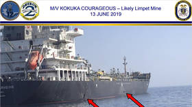 Pentagon releases blurry VIDEO claiming Iran removed 'LIKELY limpet mine' from damaged tanker