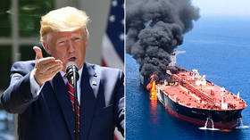 'Iran written all over it': Trump accuses Tehran of carrying out tanker attacks