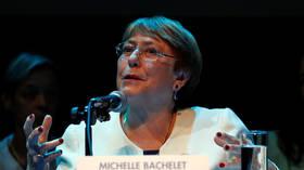 UN rights head Bachelet to meet Maduro, Guaido in Venezuela next week