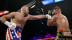 'The English Ali': Tyson Fury dazzles fans with sublime slips of punches against Tom Schwarz (VIDEO)