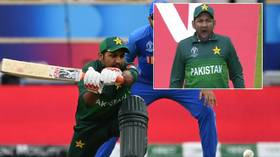 Pakistan fans mock yawning captain Sarfaraz as team suffers World Cup defeat to India (VIDEO)