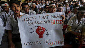 Doctors across India stage massive walk-out in protest over attack