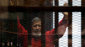 Former Egyptian president Mohamed Morsi dies 'in court' – state TV