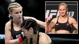 'She's terrifying!': Paige VanZant says nobody can beat reigning UFC champion Valentina Shevchenko