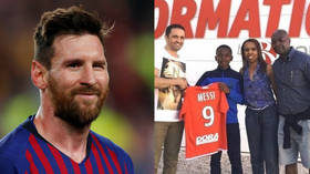 Messi signs for Ligue 1 team Dijon: French football club signs 12-year-old namesake of Barca legend