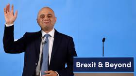 Home Secretary Sajid Javid out of Tory leadership race, as Bojo extends lead