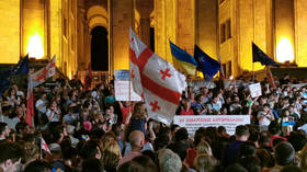 Kremlin blasts Tbilisi protests as 'Russophobic provocation'