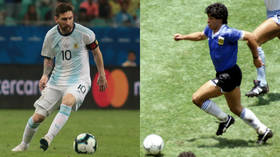 Whether it's fair or not, Messi is forever stuck in Maradona's shadow