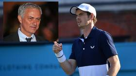 'I shed tears when he won Wimbledon': Tennis lover Mourinho praises Murray on injury comeback