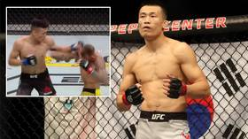 Watch 'The Korean Zombie' blast his way to victory in 58 seconds at UFC Greenville (VIDEO)