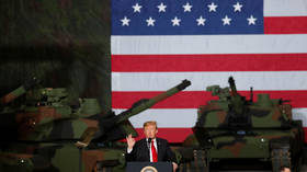Trump threatens Iran with 'OBLITERATION' by 'overwhelming force' if it attacks 'anything American'