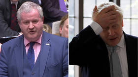 'Made career out of lying': SNP's Blackford slams 'incompetent' Boris Johnson in Parliament (VIDEO)