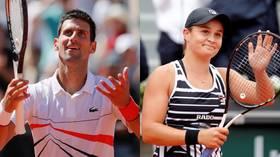 Wimbledon 2019: Novak Djokovic and Ashleigh Barty handed top seeds for grass-court spectacular