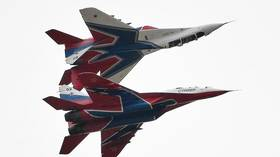 WATCH legendary Russian fighter jets perform at Moscow air show