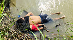 Graphic photo of drowned child in Rio Grande latest battle in US immigration war