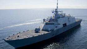 Freedom of navigation incident? US Navy combat ship plows into Canadian freighter (VIDEO)