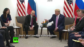 Trump trolls press, 'orders' Putin not to meddle in US elections (VIDEO)