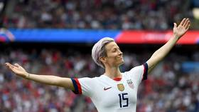 'Oh, she dirty!' US star Morgan's twerking goes viral amid Women's World Cup celebrations (VIDEO)