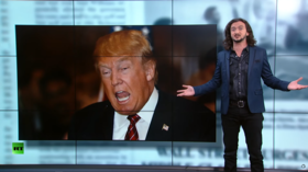 'Why is Trump such a pussyfooting peacenik?' Lee Camp savages war-horny CNN