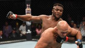 'A terrifying human': Ngannou levels former UFC champ Dos Santos with big 1st-round KO (VIDEO)