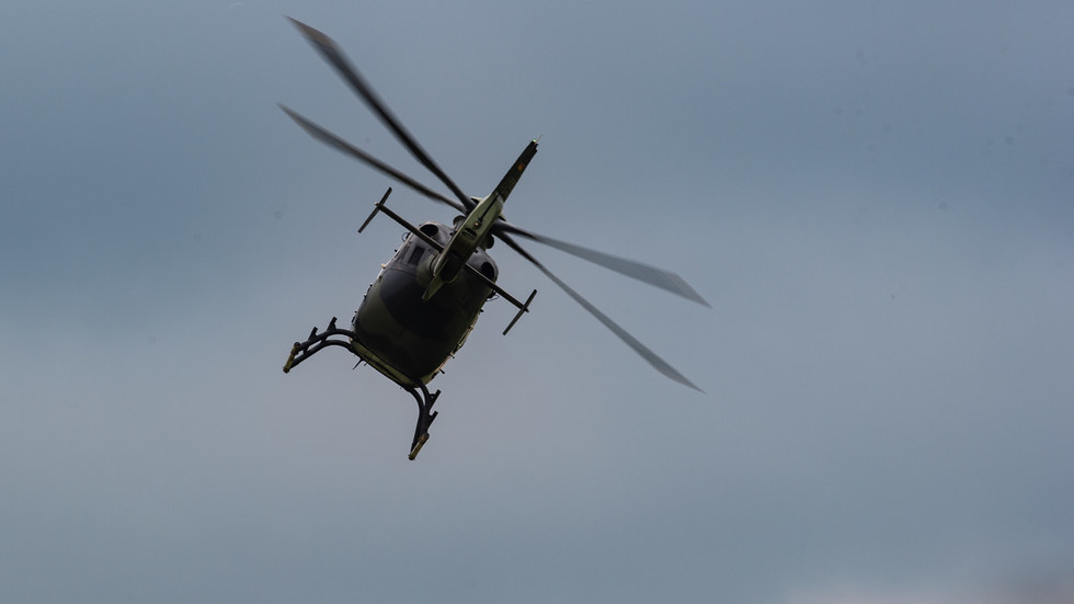 German military helicopter crashes in northern Germany - local media