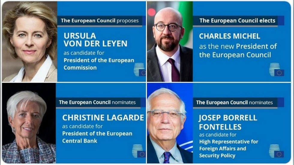 European Council appoints new leaders: Who are they? Quick facts
