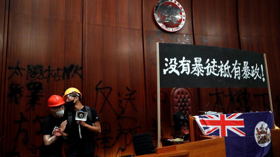 Chinese ambassador to UK: 'Hands off Hong Kong'