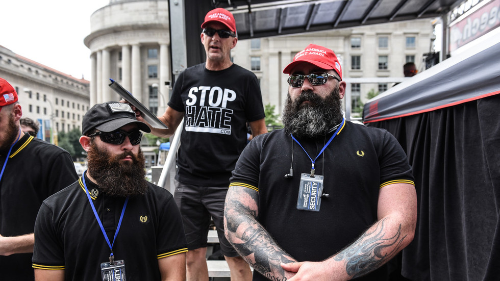 Free speech rally with Proud Boys and Milo in Washington DC draws antifa protesters (VIDEO)